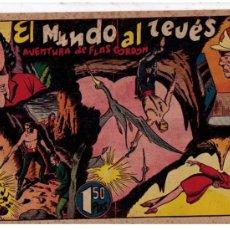 Tebeos: FLAS GORDON. HISPANO AMERICANA.1946. EL MUNDO AL REVÉS.. Lote 26057359