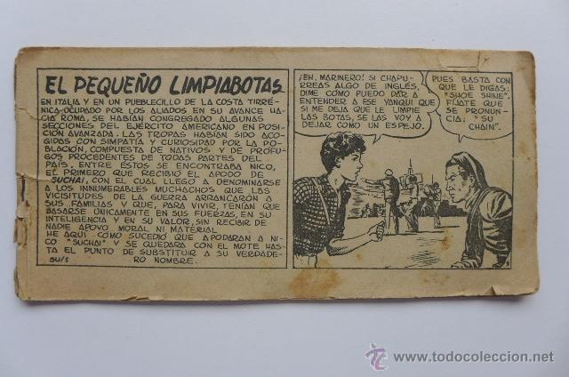 SUCHAI. EL PEQUEÑO LIMPIABOTAS. NÚMERO 1. ORIGINAL (Tebeos y Comics - Hispano Americana - Suchai)