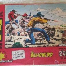 Tebeos: TEBEO COMIC EL BUHONERO TIM 7 TIROS BUFFALO BILL PUBLICACION JUVENIL HISPANO AMERICANA 1958. Lote 49197037