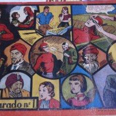 Comics - EL HOMBRE ENMASCARADO 1943 DEL Nº 1 AL 7 ENCUADERNADOS HISPANO AMERICANA - 49197149