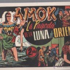 Tebeos: FACSIMIL. AMOK. LA PAGODA DE LA LUNA DE ORIENTE. HISPANO AMERICANA. Lote 49535124