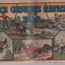Tebeos: LOS CAZADORES FURTIVOS DE LA SELVA. EDITORIAL HISPANO AMERICANA. Lote 49651308