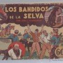 Tebeos: LOS BANDIDOS DE LA SELVA CON JORGE Y FERNANDO. EDITORIAL HISPANO AMERICANA. Lote 49651320