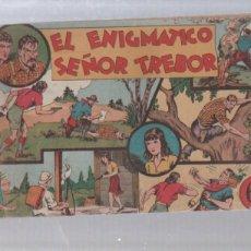 Tebeos: EL ENIGMATICO SEÑOR TREBOR. EDICIONES HISPANO AMERICANA.. Lote 49766627