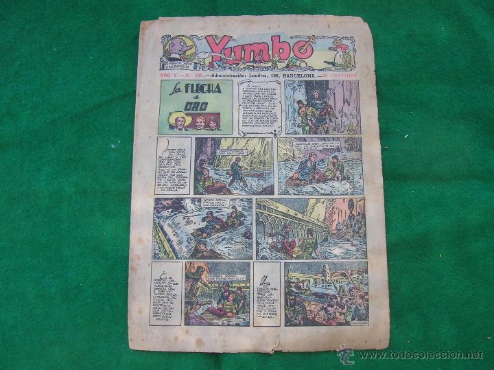 YUMBO HISPANO AMERICANA PEQEUÑO EL 168 CJ 10 (Tebeos y Comics - Hispano Americana - Yumbo)