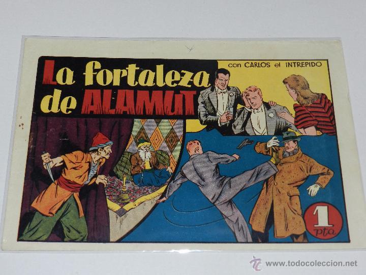 (M-1) CARLOS EL INTREPIDO NUM 18 LA FORTALEZA DE ALAMUNT , EDT HISPANO AMERICANA (Tebeos y Comics - Hispano Americana - Carlos el Intrépido)
