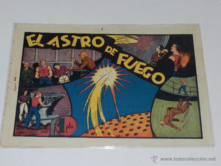 (M-1) CARLOS EL INTREPIDO NUM 15 EL ASTRO DE FUEGO , EDT HISPANO AMERICANA , SEÑALES DE USO (Tebeos y Comics - Hispano Americana - Carlos el Intrépido)