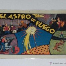 Tebeos: (M-1) CARLOS EL INTREPIDO NUM 15 EL ASTRO DE FUEGO , EDT HISPANO AMERICANA , SEÑALES DE USO. Lote 49925275
