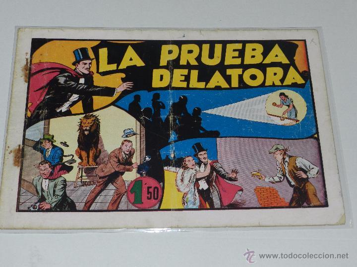 (M-1) MERLIN LA PRUEBA DELATORA NUM 13 , EDT HISPANO AMERICANA, CON ROTURITAS (Tebeos y Comics - Hispano Americana - Merlín)