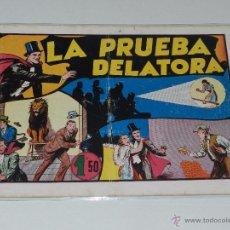 Tebeos: (M-1) MERLIN LA PRUEBA DELATORA NUM 13 , EDT HISPANO AMERICANA, CON ROTURITAS. Lote 49940179