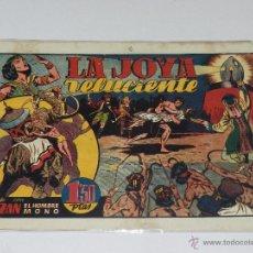 Tebeos: (M-1) TRAZAN REY DE LA SELVA NUM 20 LA JOYA RELUCIENTE , EDT HISPANO AMERICA , SEÑALES DE USO. Lote 49940647