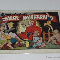 Tebeos: (M-1) HOMBRE ENMASCARADO NUM 37 LA JUVENTUD , EDT HISPANO AMERICANA, SEÑALES DE USO. Lote 49940896