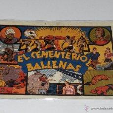 Tebeos: (M-1) HOMBRE ENMASCARADO EL CEMENTERIO DE LAS BALLENAS, EDT HISPANO AMERICANA. Lote 49940925