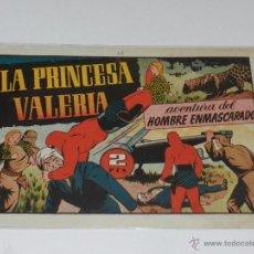 Tebeos: (M-1) HOMBRE ENMASCARADO NUM 82 LA PRINCESA VALERIA, EDT HISPANO AMERICANA, SEÑALES DE USO. Lote 49940975