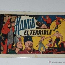 Tebeos: (M-1) HOMBRE ENMASCARADO HAMID EL TERRIBLE, EDT HISPANO AMERICANA, SEÑALES DE USO. Lote 49940982