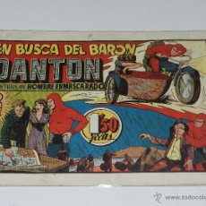Tebeos: (M-1) HOMBRE ENMASCARADO EN BUSCA DEL BARON, EDT HISPANO AMERICANA, LOMO CON ROTURAS. Lote 49941006