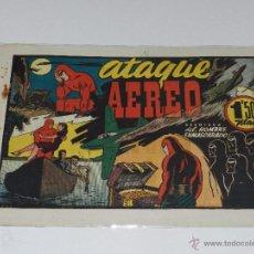 Tebeos: (M-1) HOMBRE ENMASCARADO ATAQUE AERIO , EDT HISPANO AMERICANA, SEÑALES DE USO. Lote 49941041