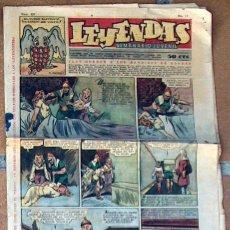Tebeos: LEYENDAS Nº 157 SEMANARIO JUVENIL. Lote 50130446