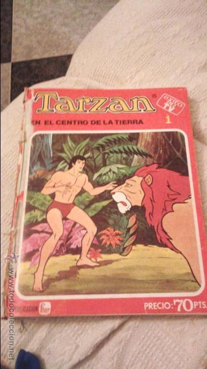 TARZAN ÉXITO EN TV FHER 1979. 70 PTS. COLECCIÓN COMPLETA A FALTA DEL NÚM 4. DIFICIL. IMPORTANTE LEER (Tebeos y Comics - Hispano Americana - Tarzán)