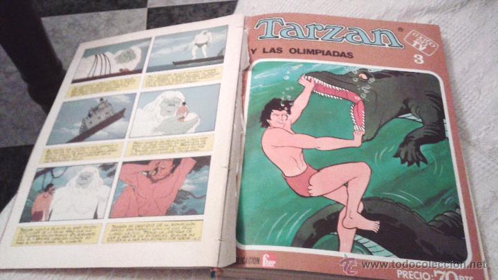 Tebeos: TARZAN ÉXITO EN TV FHER 1979. 70 PTS. COLECCIÓN COMPLETA A FALTA DEL NÚM 4. DIFICIL. IMPORTANTE LEER - Foto 7 - 50398349