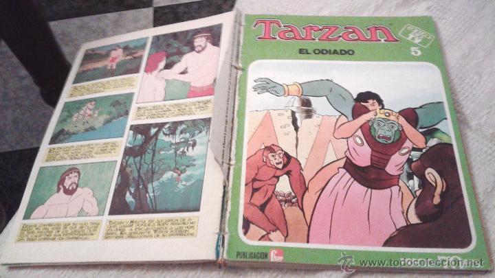 Tebeos: TARZAN ÉXITO EN TV FHER 1979. 70 PTS. COLECCIÓN COMPLETA A FALTA DEL NÚM 4. DIFICIL. IMPORTANTE LEER - Foto 8 - 50398349