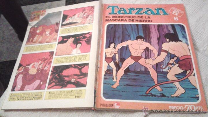 Tebeos: TARZAN ÉXITO EN TV FHER 1979. 70 PTS. COLECCIÓN COMPLETA A FALTA DEL NÚM 4. DIFICIL. IMPORTANTE LEER - Foto 9 - 50398349