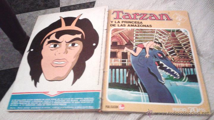 Tebeos: TARZAN ÉXITO EN TV FHER 1979. 70 PTS. COLECCIÓN COMPLETA A FALTA DEL NÚM 4. DIFICIL. IMPORTANTE LEER - Foto 12 - 50398349