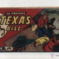 Livros de Banda Desenhada: TEXAS BILL Nº 81. HISPANO AMERICANA 1949.. Lote 50404704