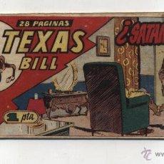 Livros de Banda Desenhada: TEXAS BILL Nº 88. HISPANO AMERICANA 1949.. Lote 50411869