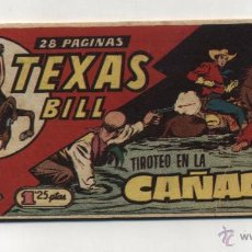 Livros de Banda Desenhada: TEXAS BILL Nº 161. HISPANO AMERICANA 1949. DIFICIL.. Lote 50413276