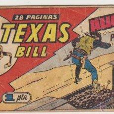 Tebeos: TEXAS BILL Nº 66. HISPANO AMERICANA 1949.. Lote 50780881