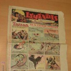 Tebeos: LEYENDAS INFANTILES N° 115 - HISPANO AMERICANA. Lote 50815698