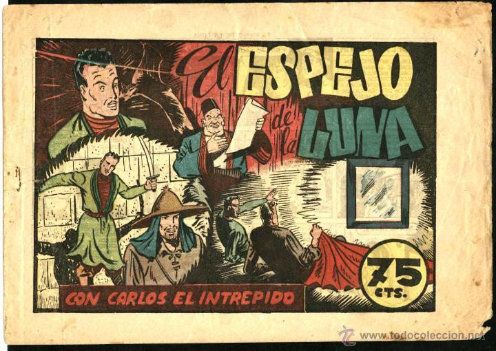 EL ESPEJO DE LA LUNA. CARLOS EL INTRÉPIDO Nº 36 (HISPANO AMERICANA, 1946) DE CLARENCE GRAY Y W. RITT (Tebeos y Comics - Hispano Americana - Carlos el Intrépido)