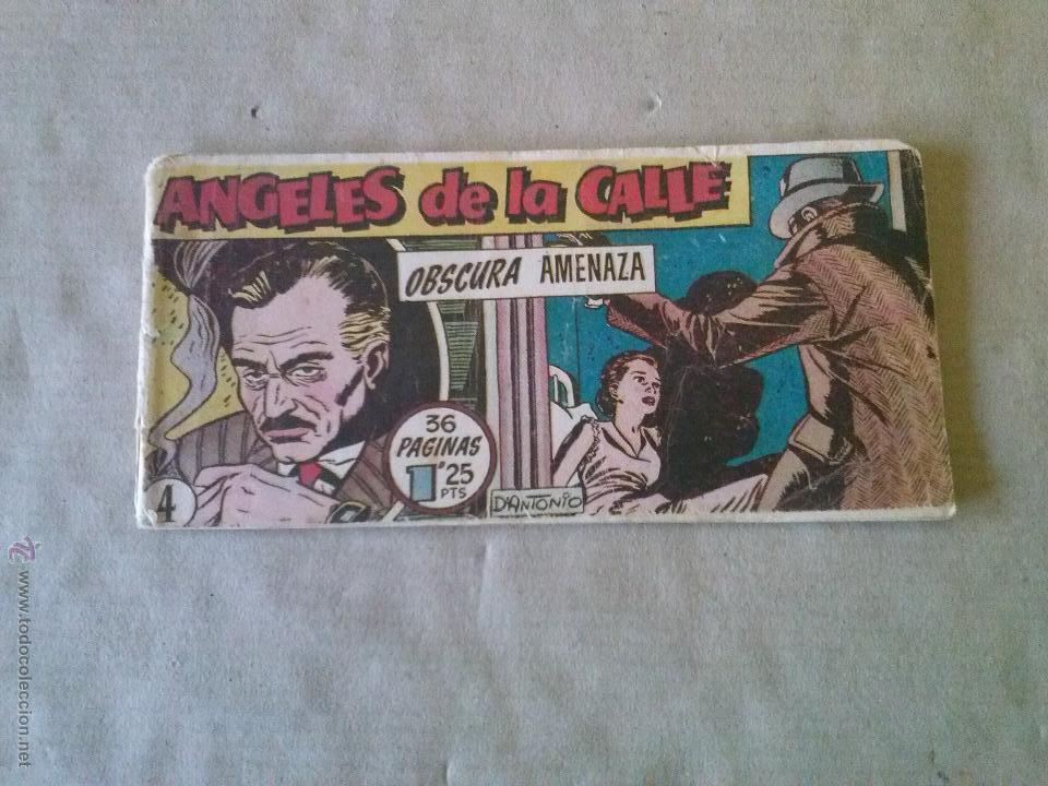 ANGELES DE LA CALLE Nº 4 - HISPANO AMERICANA --T (Tebeos y Comics - Hispano Americana - Otros)