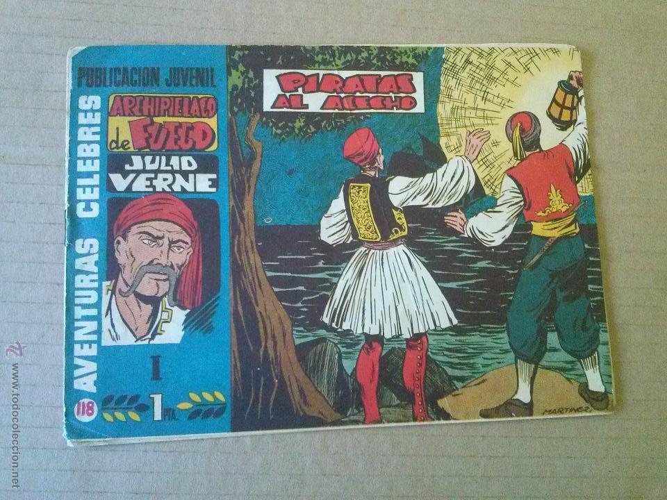 AVENTURAS CELEBRES - Nº 118 - 1ª- ARCHIPIELAGO DE FUEGO -HISPANO AMERICANA -T (Tebeos y Comics - Hispano Americana - Otros)
