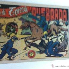 Tebeos: EL JINETE FANTASMA - LA TOMA DE QUEBRADA. Lote 50995981
