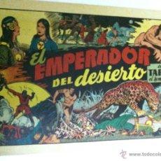 Tebeos: TARZÁN - EL EMPERADOR DEL DESIERTO. Lote 51024772