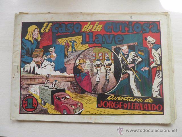 4 TEBEOS DE JORGE Y FERNANDO. (Tebeos y Comics - Hispano Americana - Jorge y Fernando)