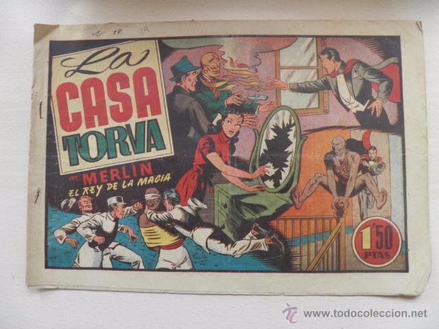 TEBEO DE MERLIN (Tebeos y Comics - Hispano Americana - Merlín)