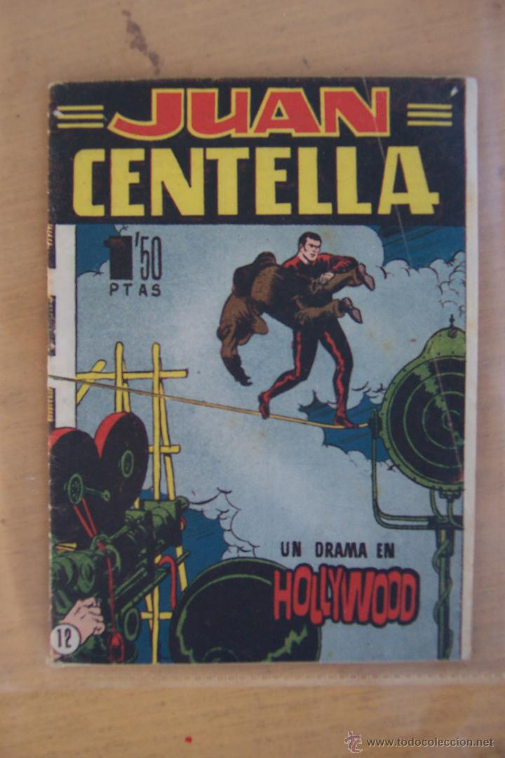 HISPANO AMERICANA JUAN CENTELLA Nº 12 BOLSILLO, INTONSO (Tebeos y Comics - Hispano Americana - Juan Centella)