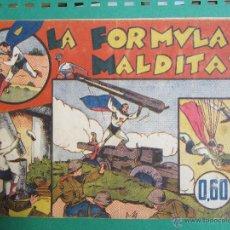 Tebeos: CICLON EL SUPERHOMBRE , LA FORMULA MALDITA , HISPANO AMERICANA ,PRIMERA EDICION SUPERMAN. Lote 51374067