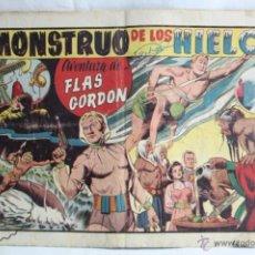 Tebeos: CÓMIC FLAS / FLASH GORDON. Nº 1. EL MONSTRUO DE LOS HIELOS - HISPANO AMERICANA, AÑO 1946. Lote 51417681
