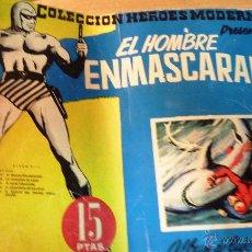 Tebeos: COMIC EL HOMBRE ENMASCARADO . ALBUM DE LUJO 13 . 1958 COLECCION HEROES MODERNOS ED DOLAR. Lote 51482299