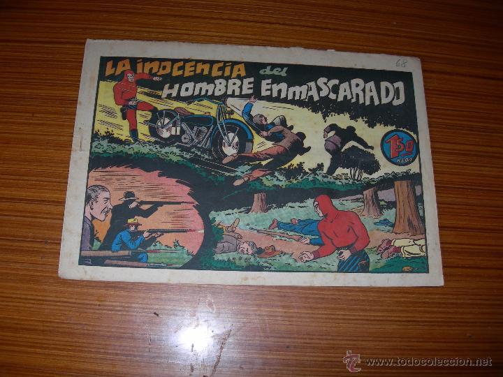 EL HOMBRE ENMASCARADO Nº LA INOCENCIA DEL HOMBRE ENMASCARADO DE HISPANO AMERICANA (Tebeos y Comics - Hispano Americana - Hombre Enmascarado)