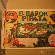 Tebeos: EL HOMBRE ENMASCARADO, EL BARÓN PIRATA, EDITORIAL HISPANO AMERICANA. Lote 51616128