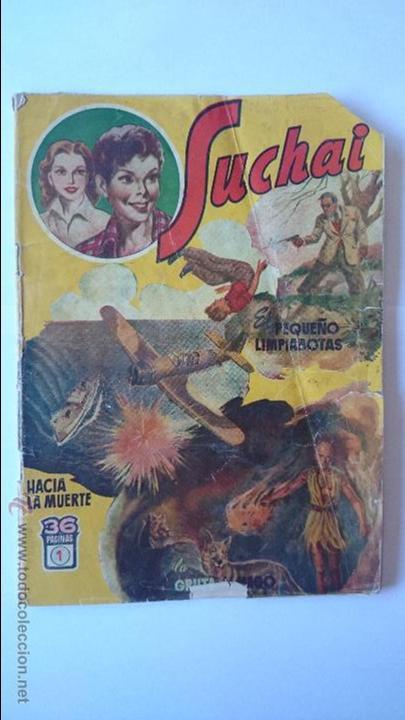 ANTIGUO COMIC SUCHAI , Nº1 , (3 EPISODIOS)-HISPANO AMERICANA . R-162 (Tebeos y Comics - Hispano Americana - Suchai)