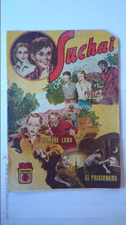 ANTIGUO COMIC SUCHAI , Nº2 , (3 EPISODIOS)-HISPANO AMERICANA . R-163 (Tebeos y Comics - Hispano Americana - Suchai)