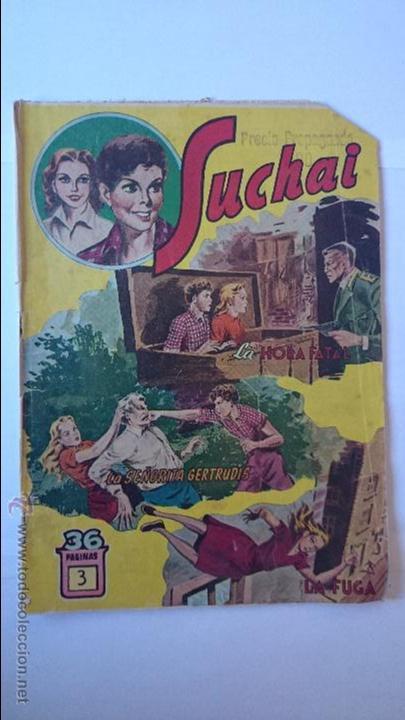 ANTIGUO COMIC SUCHAI , Nº3 , (3 EPISODIOS)-HISPANO AMERICANA . R-164 (Tebeos y Comics - Hispano Americana - Suchai)