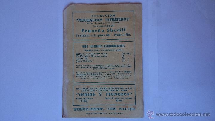Tebeos: ANTIGUO COMIC SUCHAI , Nº5 , (3 EPISODIOS)-HISPANO AMERICANA . R-165 - Foto 2 - 51685385