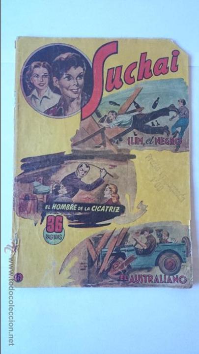 ANTIGUO COMIC SUCHAI , Nº5 , (3 EPISODIOS)-HISPANO AMERICANA . R-165 (Tebeos y Comics - Hispano Americana - Suchai)